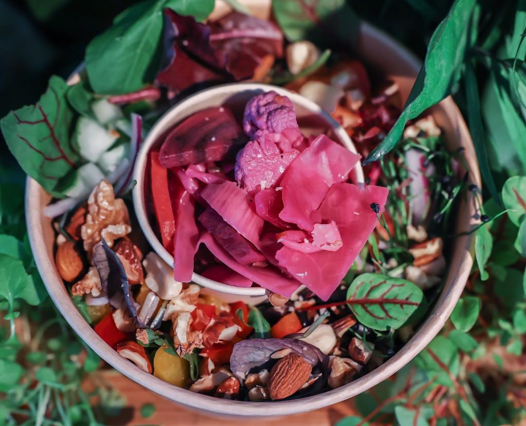 nutty salad goflow